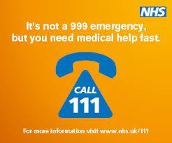 Call NHS Direct on 111